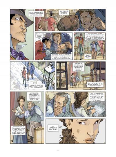 Page 2 Les quatre de Baker street tome 3
