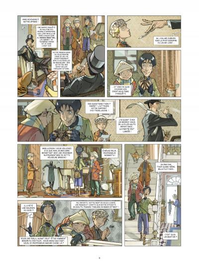 Page 4 Les quatre de Baker street tome 3
