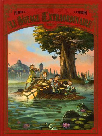Couverture Le voyage extraordinaire tome 1