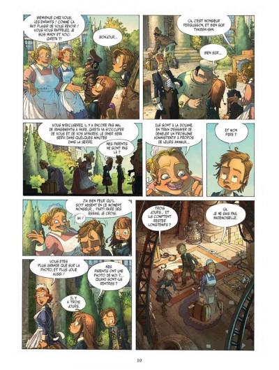 Page 8 Le voyage extraordinaire tome 1