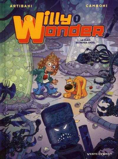 Couverture Willy Wonder tome 1 - le clan du panda cruel