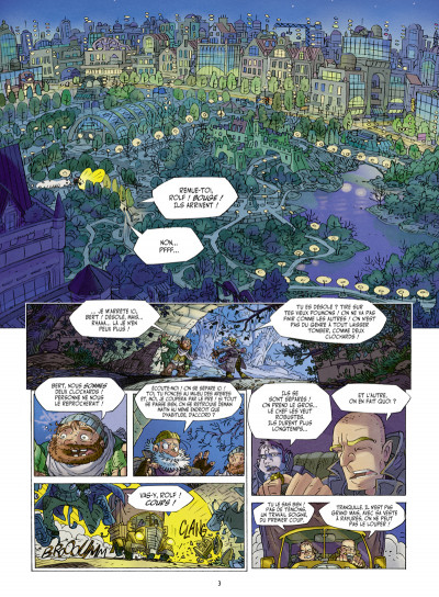 Page 1 Willy Wonder tome 1 - le clan du panda cruel