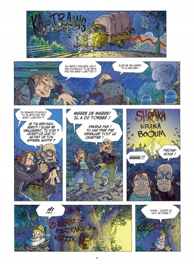 Page 2 Willy Wonder tome 1 - le clan du panda cruel