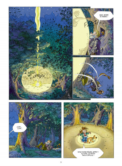 Page 3 Willy Wonder tome 1 - le clan du panda cruel