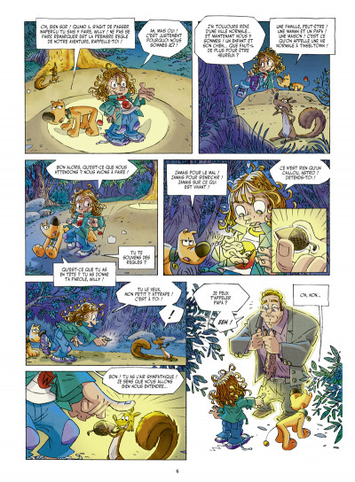 Page 4 Willy Wonder tome 1 - le clan du panda cruel