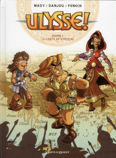 image de Ulysse ! tome 1 - la carte de Kyrozas