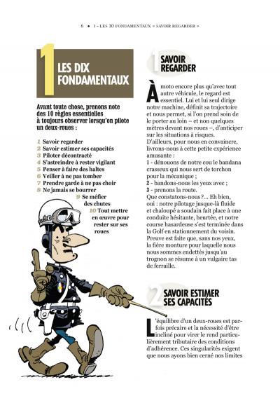 Page 2 joe bar team ; manuel de conduite à l'usage du motocycliste débutant