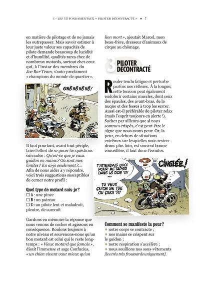 Page 3 joe bar team ; manuel de conduite à l'usage du motocycliste débutant
