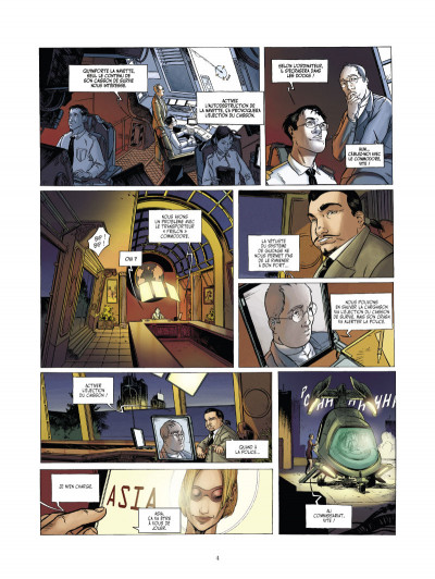 Page 2 l'arche tome 1 - projet sherwood