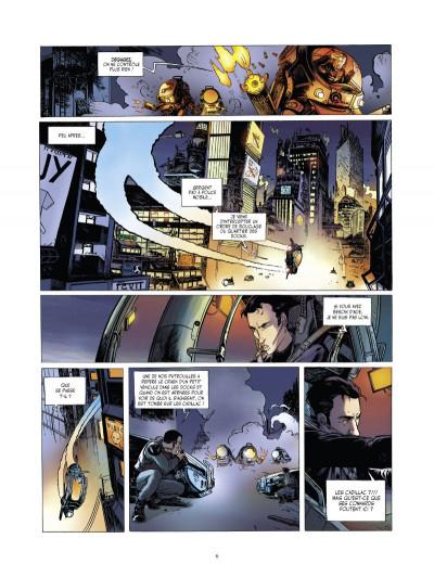 Page 4 l'arche tome 1 - projet sherwood