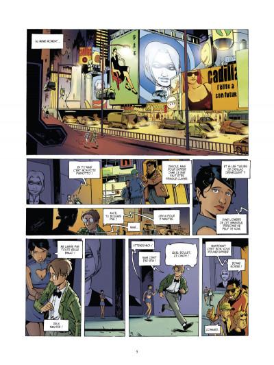 Page 3 l'arche tome 2 - Frankenstein