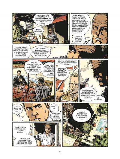 Page 0 enchainés saison 2 tome 3 - châtiments