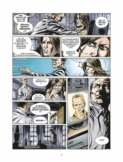 Page 6 enchainés saison 2 tome 3 - châtiments