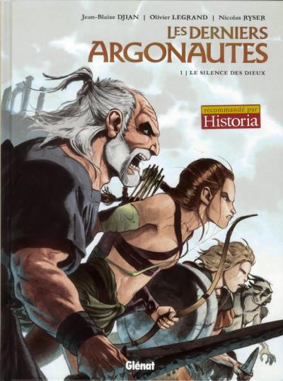 Couverture les derniers argonautes tome 1 - le silence des dieux