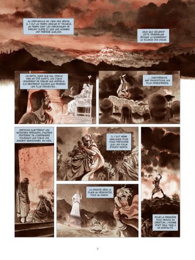 Page 1 les derniers argonautes tome 1 - le silence des dieux