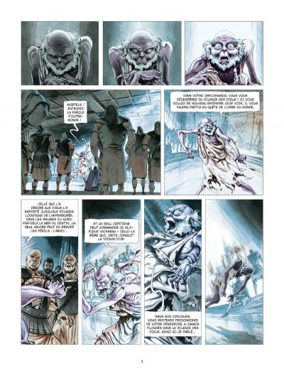 Page 3 les derniers argonautes tome 1 - le silence des dieux