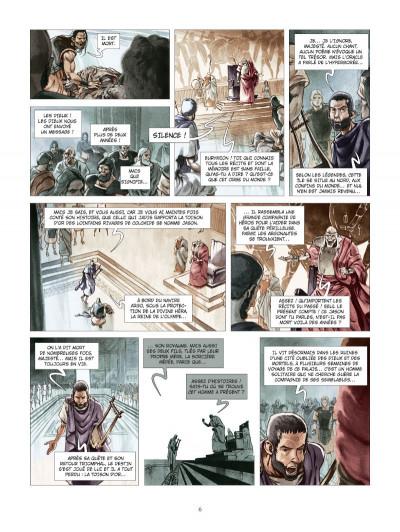 Page 4 les derniers argonautes tome 1 - le silence des dieux