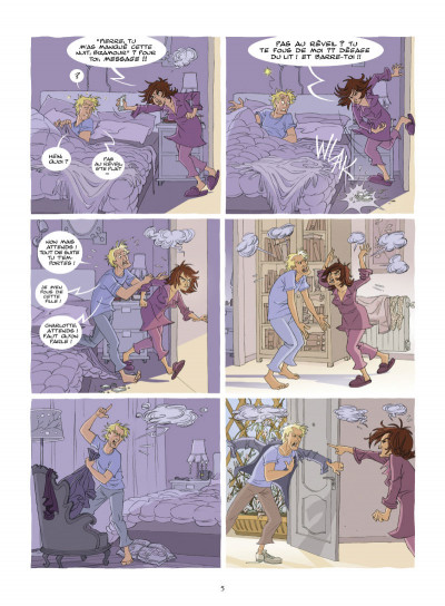 Page 3 Charlotte, célibataire avec enfants tome 1 - vie de dingue !