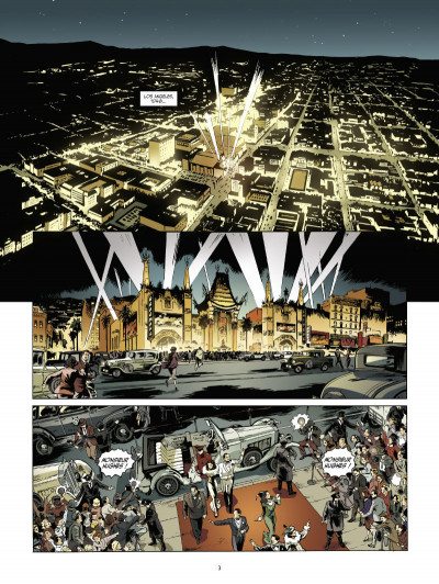Page 1 dans la paume du diable tome 1 - l'usine à rêves