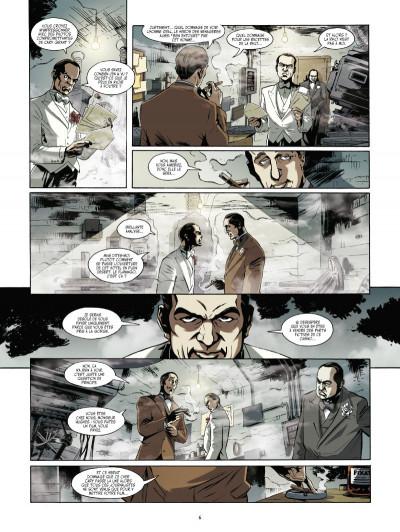 Page 4 dans la paume du diable tome 1 - l'usine à rêves