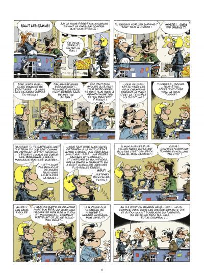 Page 4 Joe Bar team - coffret B - tome 5 à tome 7 + encyclopédie