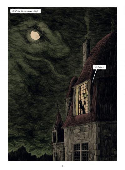 Page 1 chambres noires tome 3 - requiem en sous-sol