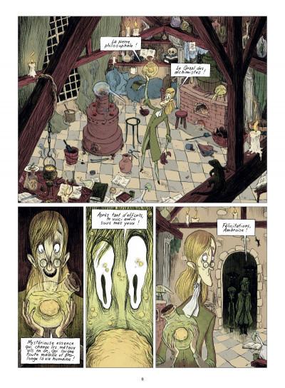 Page 2 chambres noires tome 3 - requiem en sous-sol