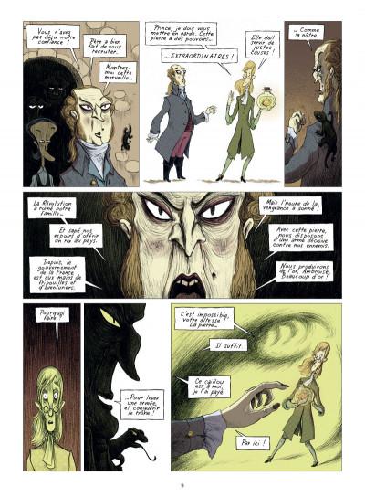 Page 3 chambres noires tome 3 - requiem en sous-sol