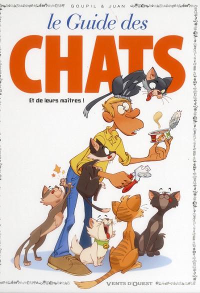 Couverture guide en BD tome 40 - le guide des chats