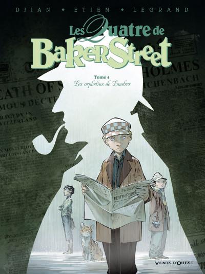 image de les quatre de Baker street tome 4 - les orphelins de Londres