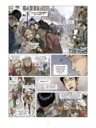 Page 1 les quatre de Baker street tome 4 - les orphelins de Londres
