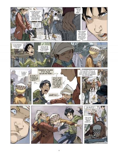 Page 2 les quatre de Baker street tome 4 - les orphelins de Londres