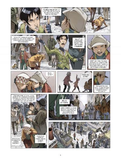 Page 3 les quatre de Baker street tome 4 - les orphelins de Londres