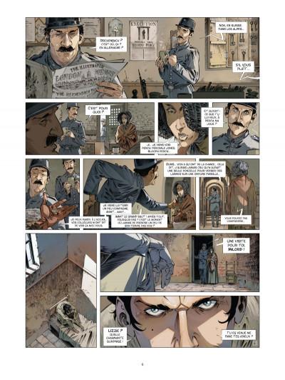 Page 4 les quatre de Baker street tome 4 - les orphelins de Londres