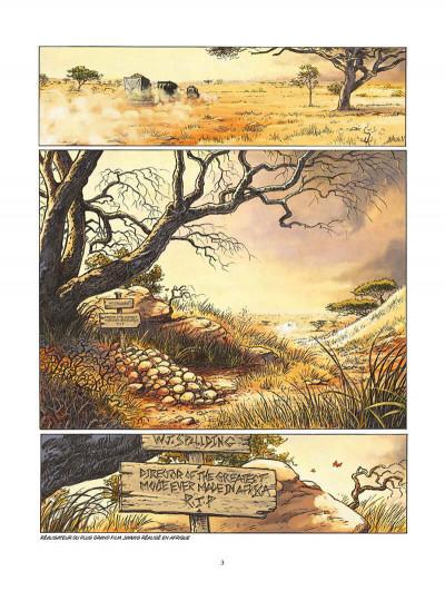 Page 4 l'appel des origines tome 3 - Sanyanga