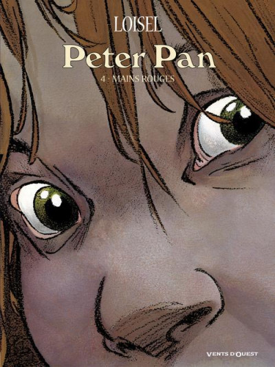 Couverture Peter Pan tome 4 - mains rouges