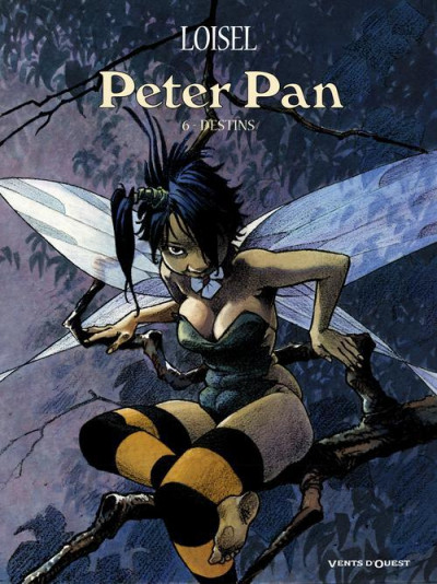 Couverture Peter Pan tome 6