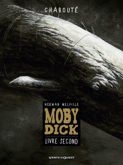 Couverture Moby dick tome 2