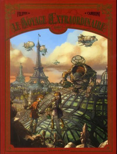 Couverture Le voyage extraordinaire tome 2