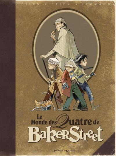 Couverture Les quatre de baker street - le monde des quatre de Baker Street
