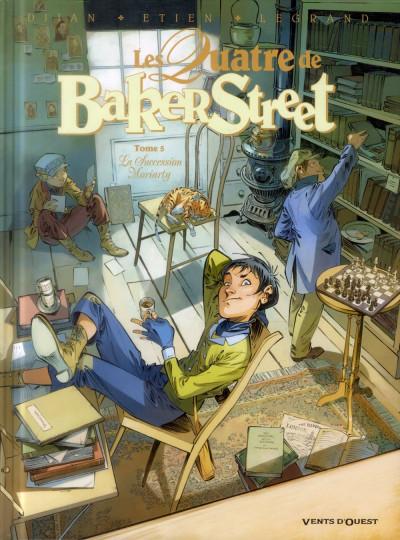 Couverture Les quatre de Baker street tome 5