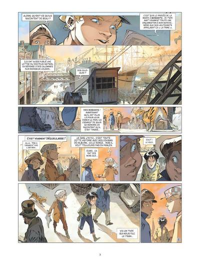 Page 6 Les quatre de Baker street tome 5