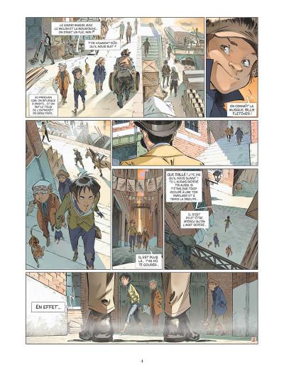 Page 7 Les quatre de Baker street tome 5