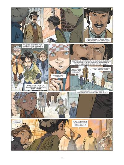 Page 8 Les quatre de Baker street tome 5
