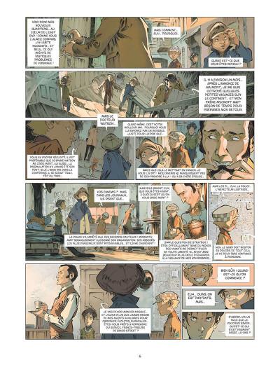 Page 9 Les quatre de Baker street tome 5