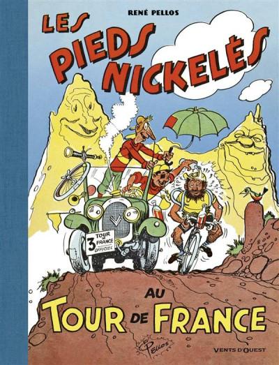 Couverture les pieds nickelés au tour de France