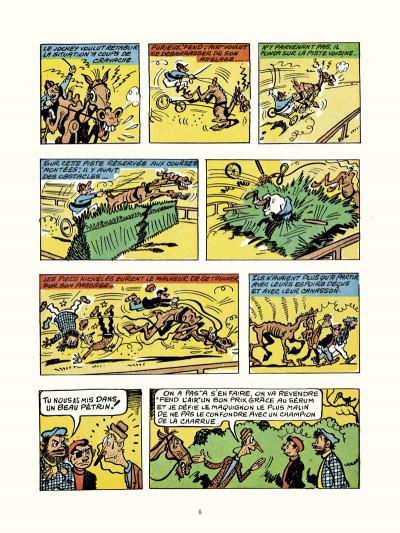 Page 4 les pieds nickelés au tour de France