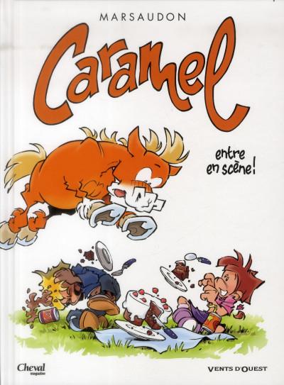 Couverture Caramel tome 1 - Caramel entre en scène