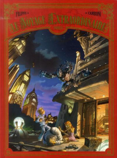 Couverture Le voyage extraordinaire tome 3