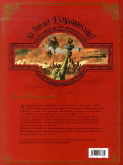 Dos Le voyage extraordinaire tome 3